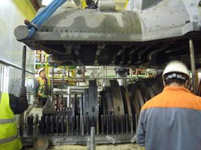 Gas and steam turbine assemblies 1